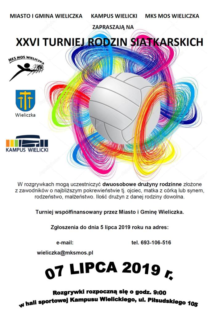 turniej rodzin plakat 2019